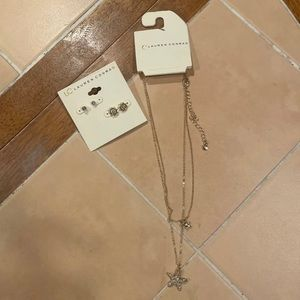 Necklace & Earrings Jewelry Bundle